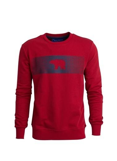 Bad Bear Sweatshirt Kırmızı